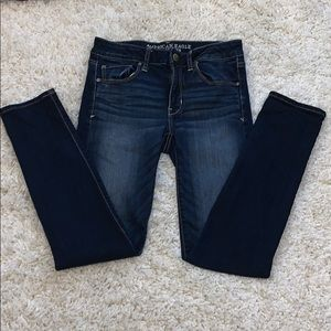 american eagle size 6 skinny jeans
